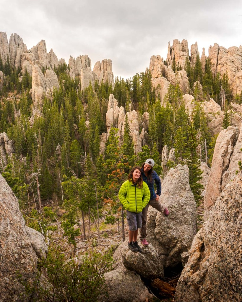 Little Devils Tower Hike, Custer State Park