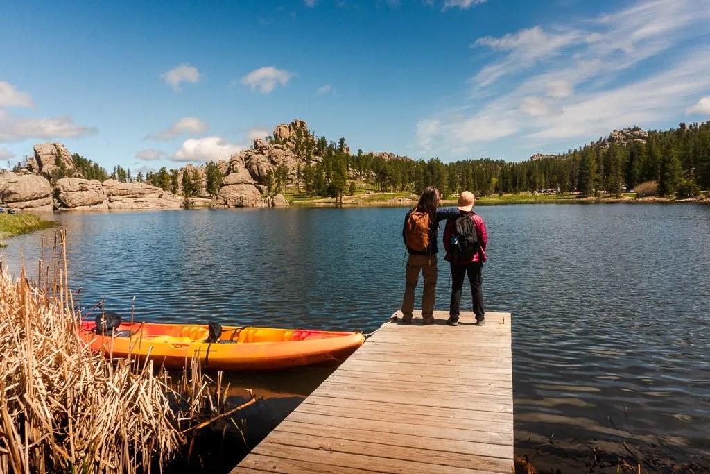 Sylvan Lake Trailhead, Black Elk trail