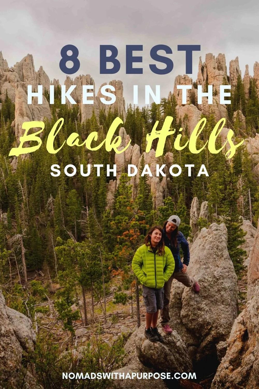 best hikes Black Hills, South Dakota