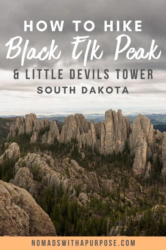 Hiking Black Elk Peak & Little Devils Tower (+ Other Sylvan Lake Trails)