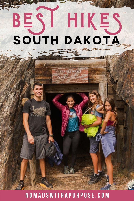 Best Hikes Black Hills South Dakota Pin