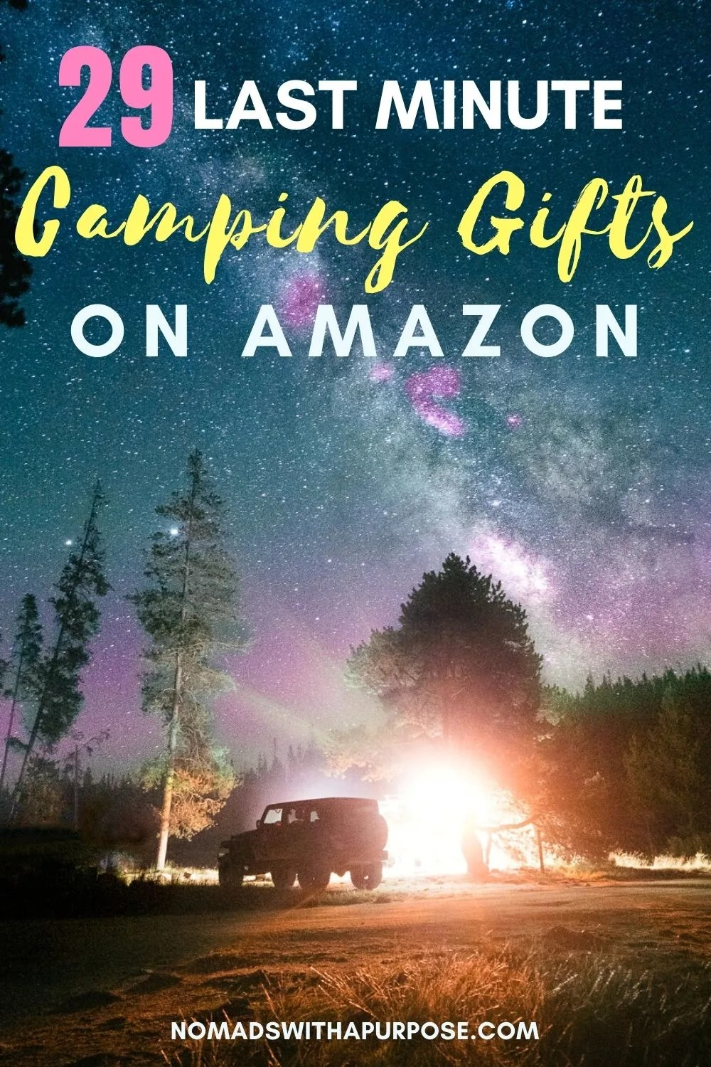camping gifts Amazon