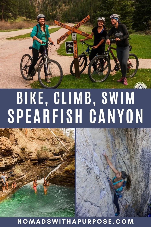 bike, climb, and swim spearfish canyon
