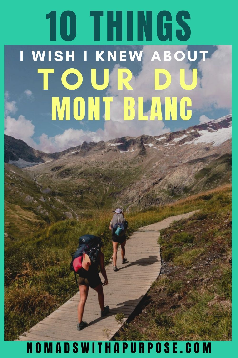 Tour Du Mont Blanc Self Guided Tips