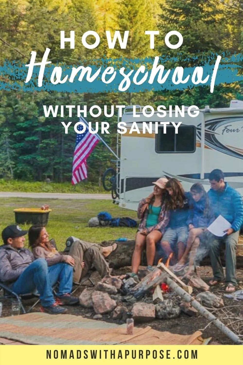 how to homeschool without losing sanity