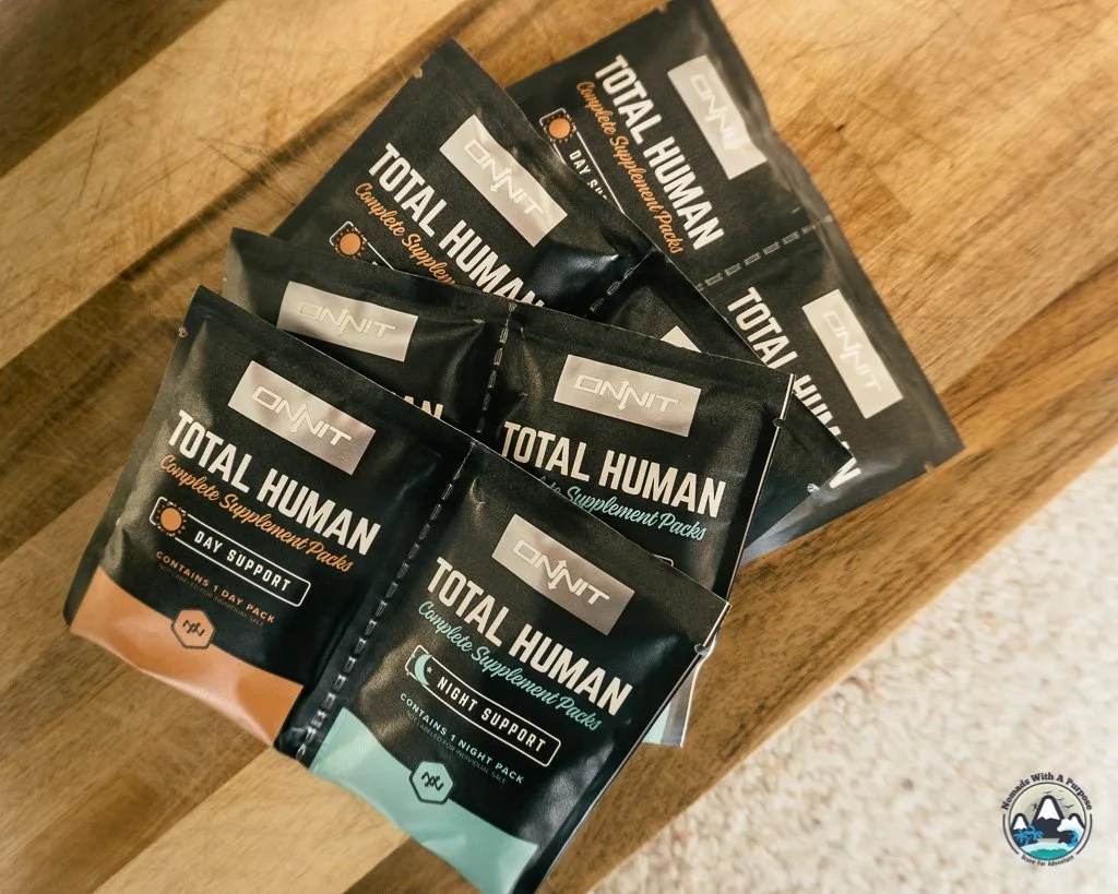 Onnit Supplements Total Human 30-day packets