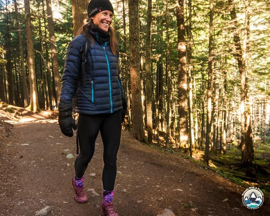 Hylete Terras Fleece Lined Leggings for Winter Hiking