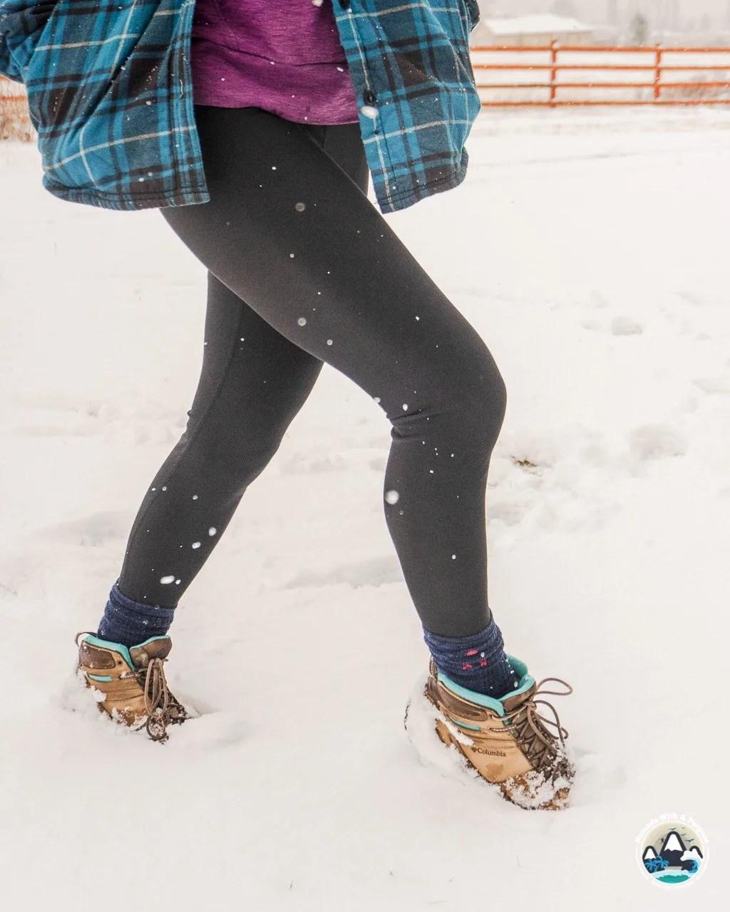 Terras fleece lined leggings