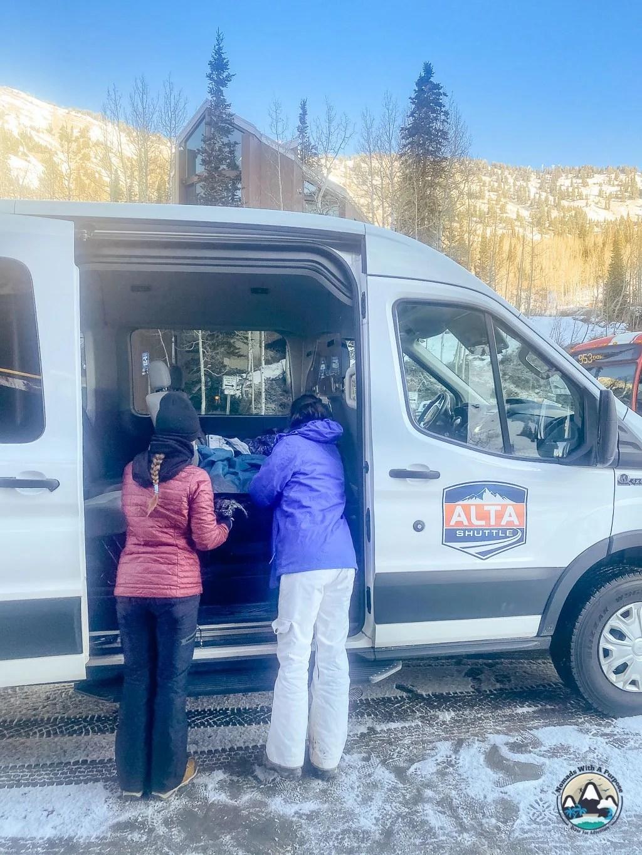 Alta Shuttle to Alta Lodge