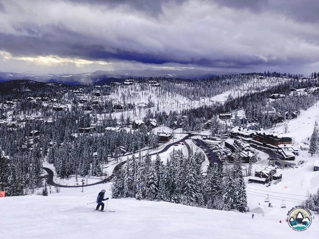 Big Mountain Views, Montana, Whitefish