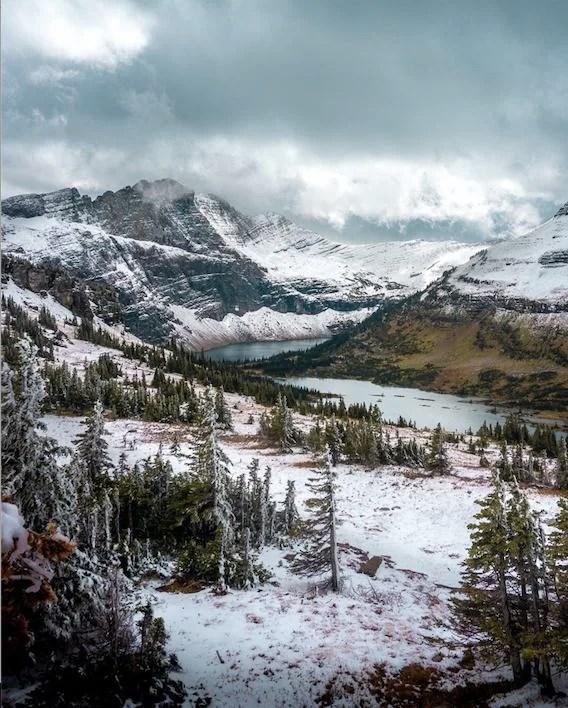 Hidden Lake, Overlook, Glacier National Park, Montana