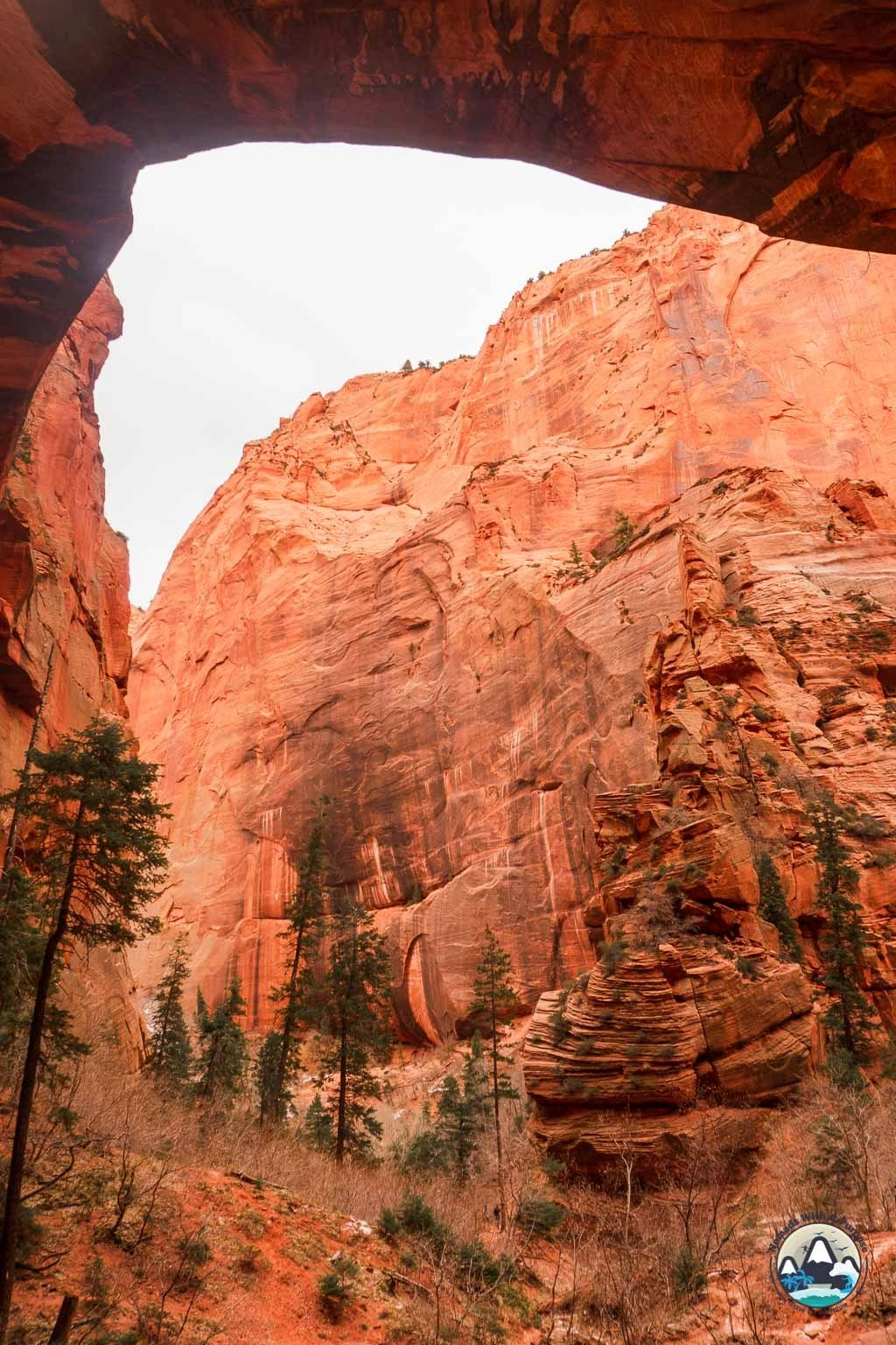 Middle Fork destination of Kolob Canyon, Zion