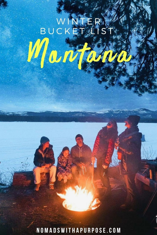 Winter bucket list Montana
