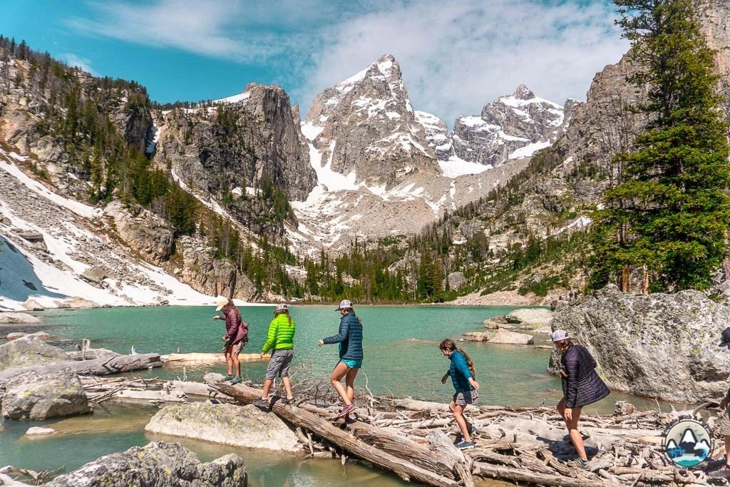 Alpine wonderland, Delta Lake Wyoming Hike