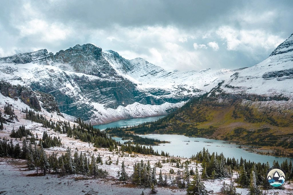 Hidden Lake Overlook, Fall in Glacier
