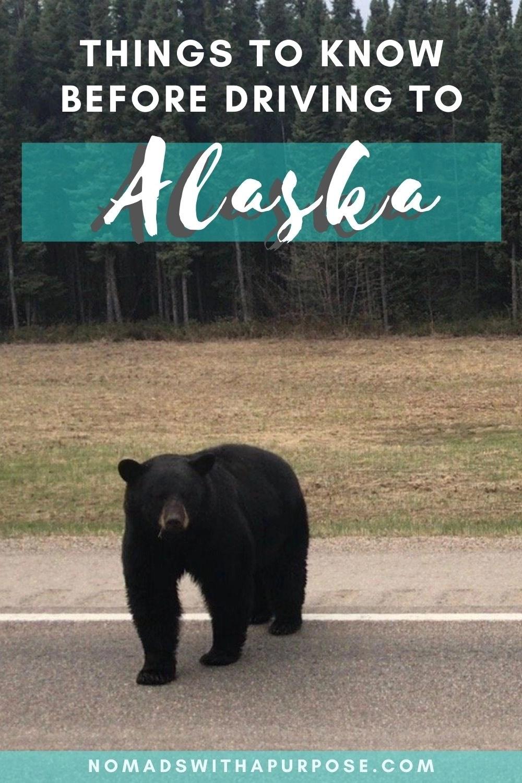 Tips for driving Alaska Highway Pin