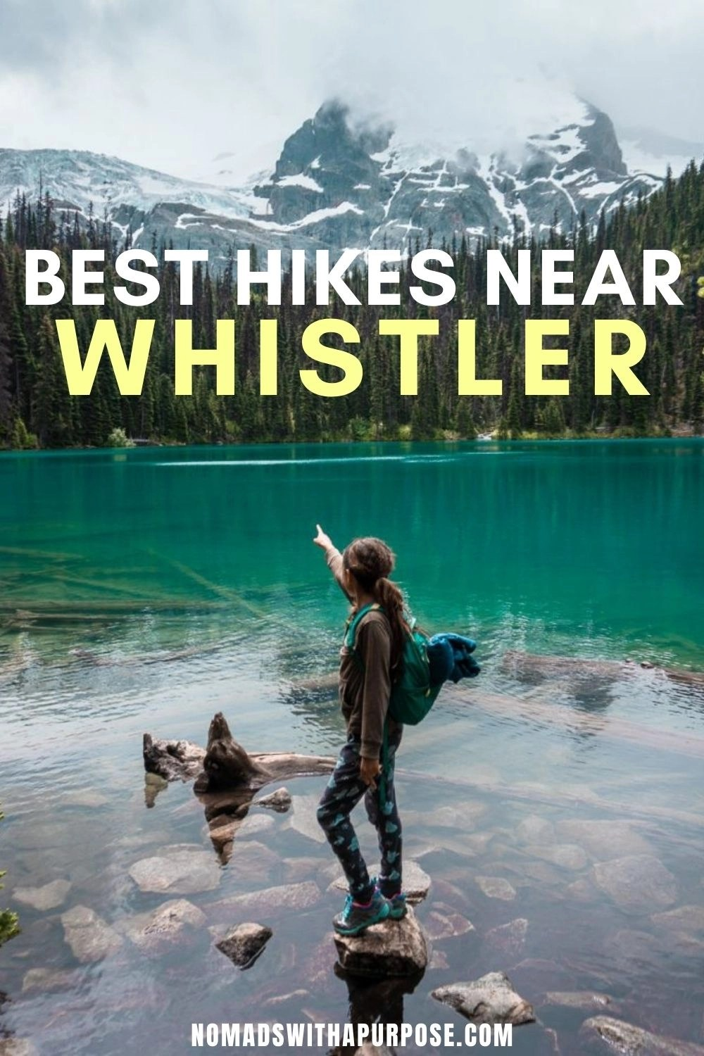 Best Hikes Whister Pin