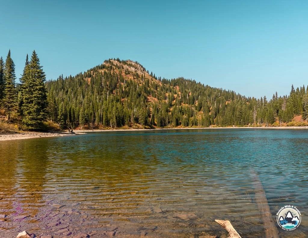 Strawberry Lake, Bigfork, Hiking Montana, Glacier County