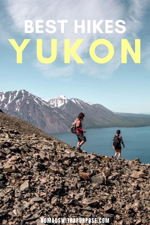 Best Hikes Yukon, Golden Circle, Pin