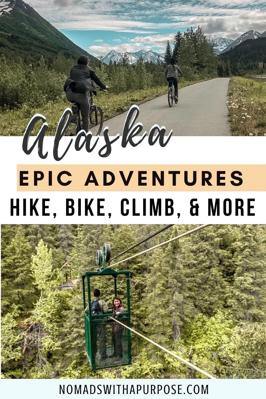 Alaska Epic Adventures Pin