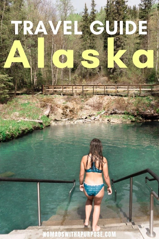 Travel Guide to Alaska Pin