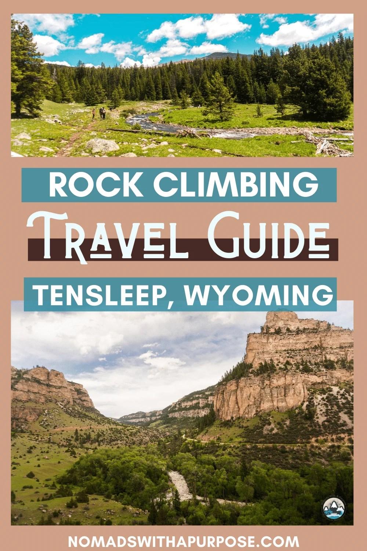 rock climbing travel guide tensleep, wyoming
