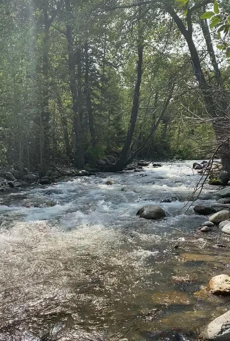 PIney Creek Canyon, Wyoming Road Trip