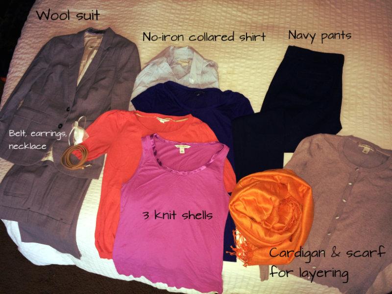 Work wardrobe 1