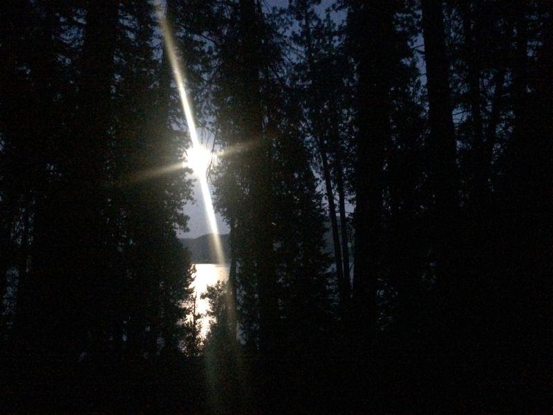 Coeur d'Alene Moon