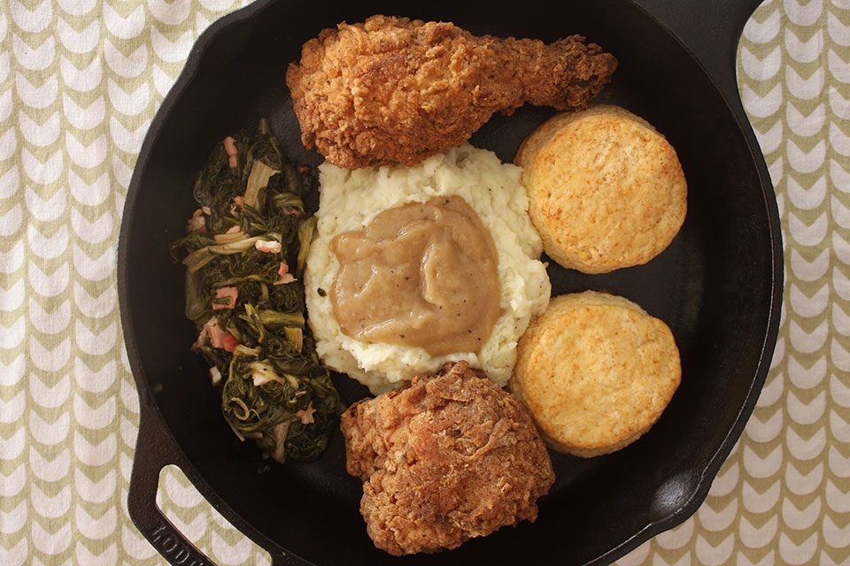 Chicken Biscuits Creamed And
