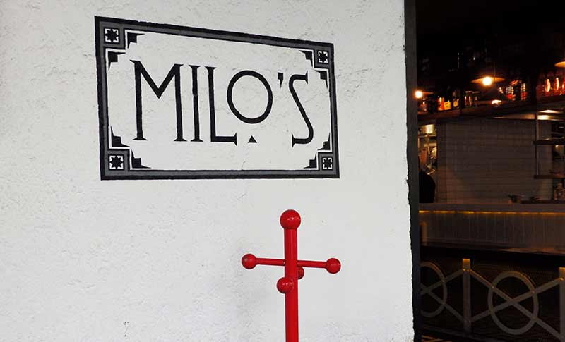 Milo's restaurant/bar on Avenida Amsterdam, La Condesa, Mexico City