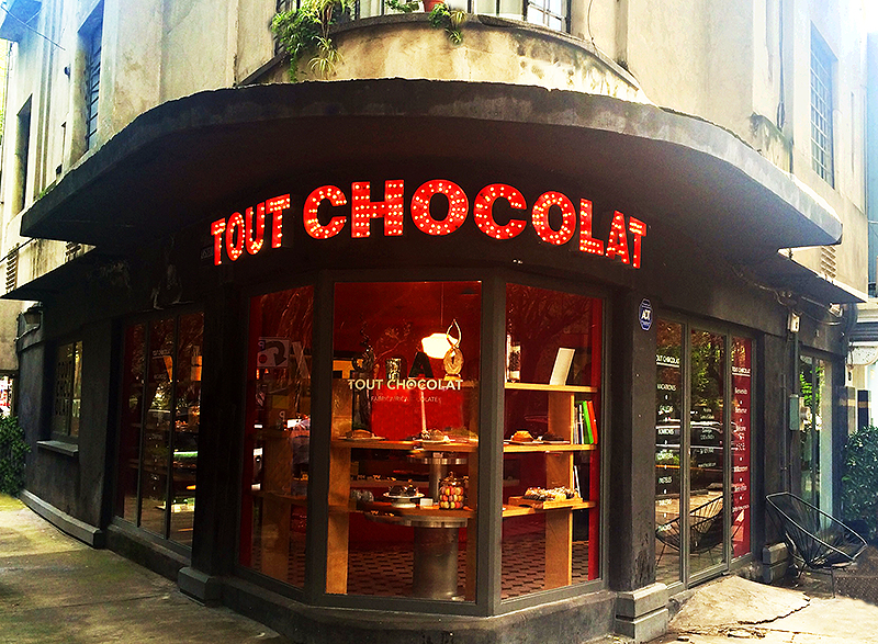 Tout Chocolat patisserie and chocolate shop, Avenida Amsterdam, La Condesa, Mexico City