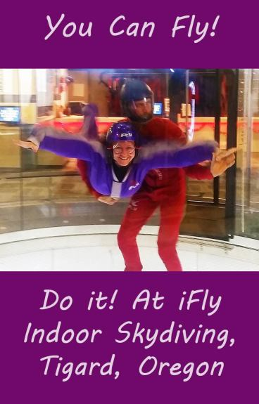 Pinnable Image - I'm Flying, at iFly Indoor Skydiving