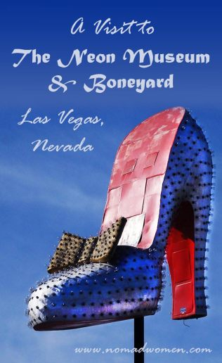 A Visit to the Neon Museum - Pinnable Image 2