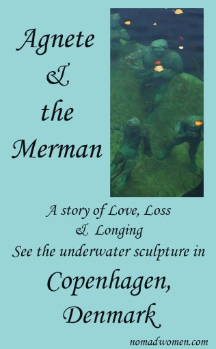 Agnete & the Merman, a story of love, loss and longing, pinnable image