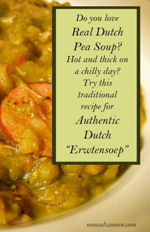 Pin this for Later - Do you love real Dutch Pea soup? Try this recipe Soup? Try this recipe.