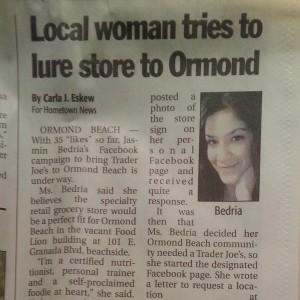 Ormond Beach Hometown News , May 2012