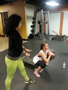 Arabella squats