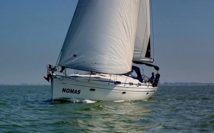 Nomas op het IJsselmeer (foto Ingeborg Berghuijs)