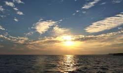 Zonsondergang bij Kaap St. Vincent.