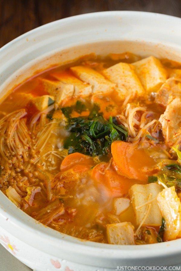 Donabe Recipes - Kimchi Nabe