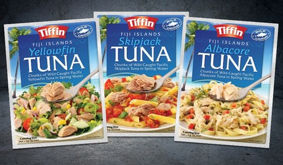Tiffin Tuna Fiji Snack
