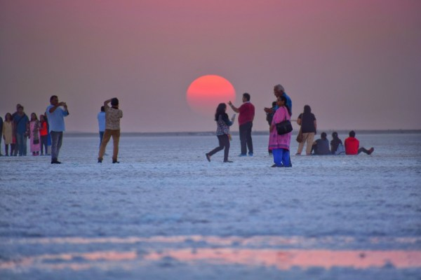 Sunset as Kutch