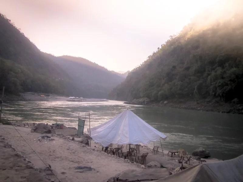 Rishikesh - Camping Area