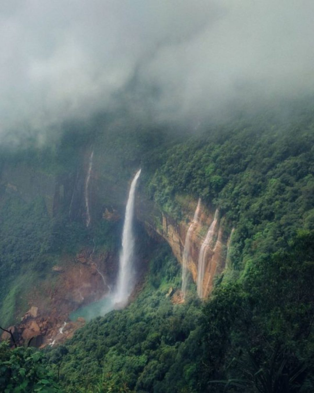 Cherrapunjee, Hill Stations in India