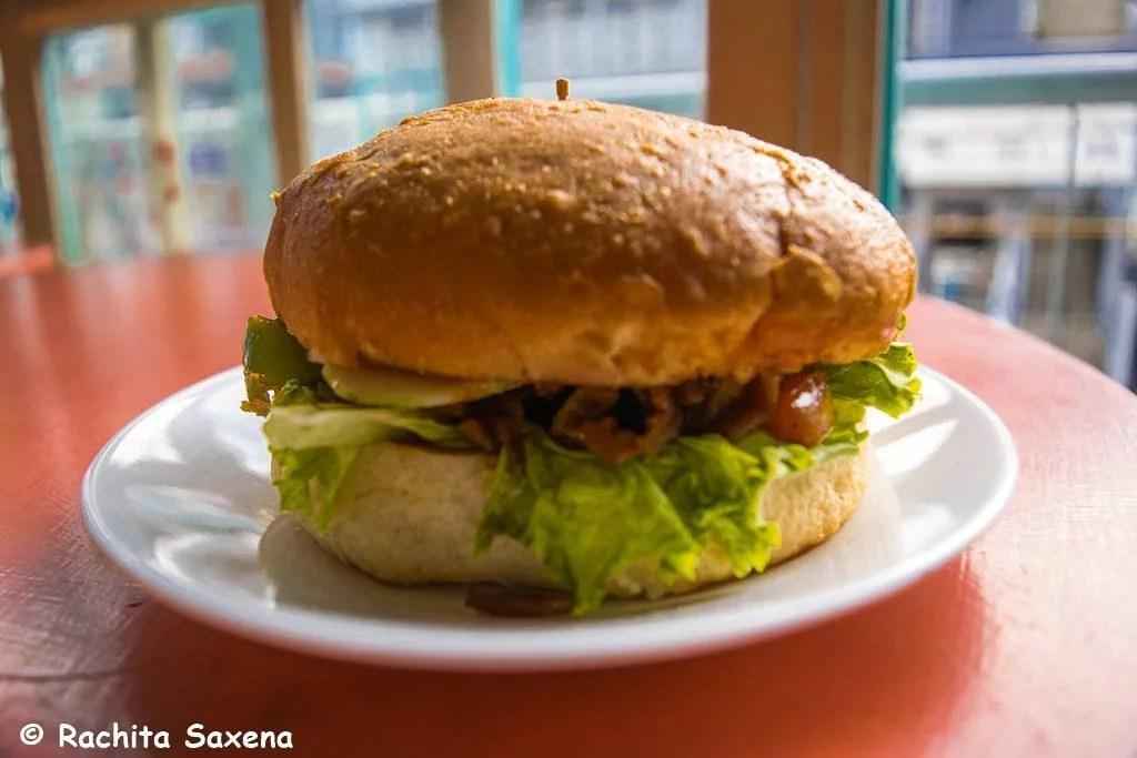 Bacon and Ham Burger, Zest Shillong