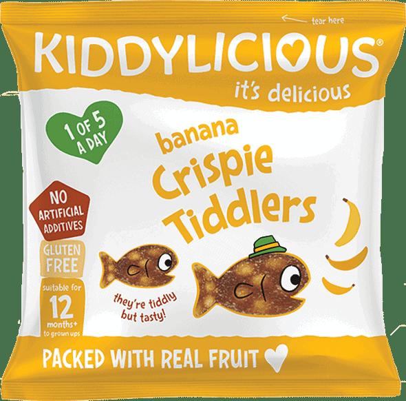 Kiddylicious - Banaan Crispy Tiddlers