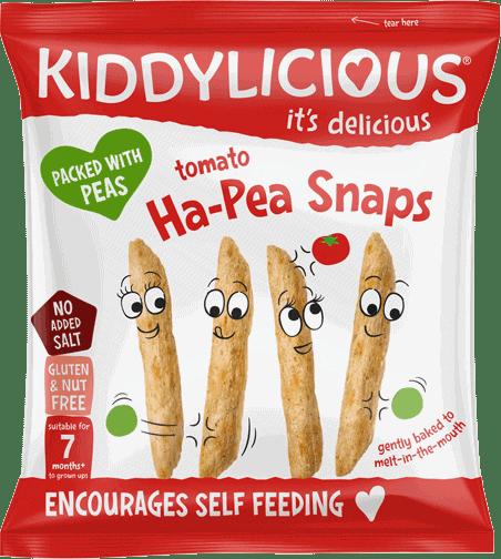 Kiddylicious - Tomaat Ha-Pea Snaps