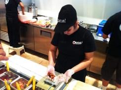 Making Sushi at Oh Fish