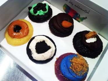 Mini cupcakes from Baked by Melissa New York City